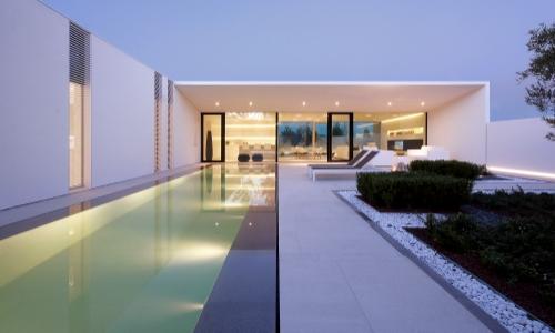 Rihter hiša interier