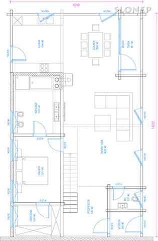 Pritličje, 101,82 m2