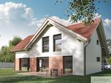 Hiša Classic 127 nudi sodoben in odprt tloris v kombinaciji s klasičnim zunanjim izgledom.