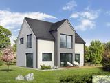 Lesena montažna hiša L 156 iz linije PICK & PLACE je prava izbira za večjo družino, ki je navajena udobja velikih prostorov.