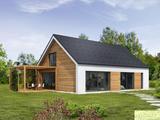 Lesena hiša Prima 119 s svojimi preprostimi in čistimi sodobnimi linijami deluje po principu »manj je več«. Enostavno obliko te čudovite pritlične dvokapnice ......