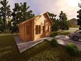 Montažna hiša Mala lesena nebesa