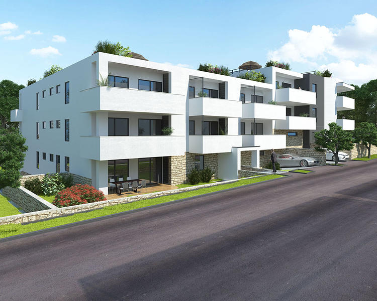 Nova stanovanja v Puli