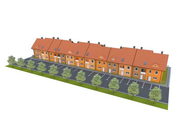 Vrstne hiše z atrijem