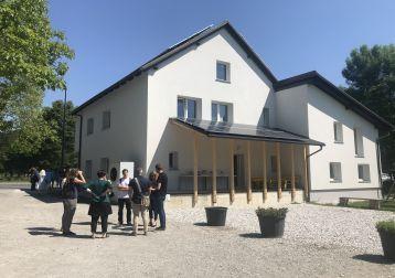 Pri energetski prenovi Viške hiške je sodelovala tudi družba JUB