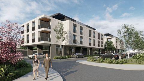 Novogradnja v prihodu - Soseska Sereno - stanovanja in poslovni prostori