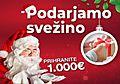 Podarjamo svežino v vrednosti 1.000 €