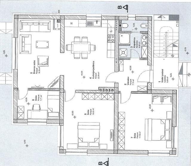 Prodaja, stanovanje - ŽIRI, CENTER 1