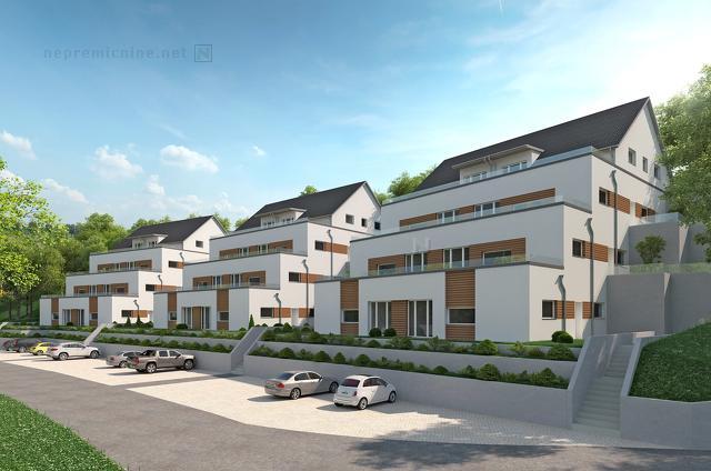Prodaja, stanovanje - KALCE, Z MANSARDO IN ATRIJEM 1